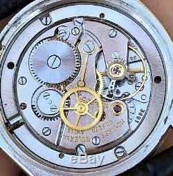 1968 Rolex Oysterdate 6694 Black Full Gilt Dial Men's Wristwatch ORIGINAL