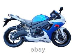 2011-21 Suzuki GSXR 600 GSXR 750 Full Exhaust with Muffler + Header CS Racing