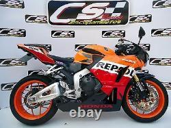 2013-21 Honda CBR600RR Full Exhaust Muffler CS Racing Non-ABS only Deep Sound