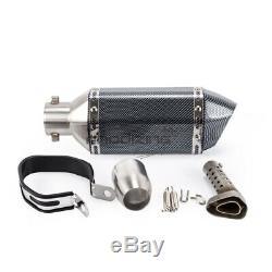 ANODIZING Slip On Header Pipe Full Exhaust System For HONDA Grom 125 MSX 2013-20
