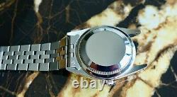 A Stunning Gents 1989 Rolex Oyster Datejust Box & Cert Full Set In S/steel