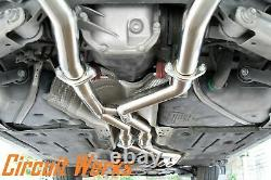 BMW 335i E90 E92 07-10 Twin Turbo Brushed N54 Coupe / Sedan Full Catback Exhaust