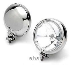 Bmw Mini Spot Lights Driving Lamps Full Kit Stainless Brushed Steel Like Chrome