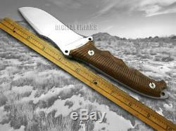 Boker Arbolito Buffalo Soul 42 Fixed Blade Knife Guayacan Ebony Wood 02BA316W