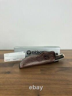 Boker Arbolito Genuine Deer Stag Full Tang Fixed Blade Knife 545 440c Stainless
