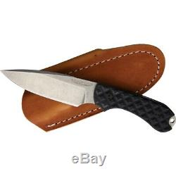 Bradford Knives Guardian 3 Black G10 AEB-L Steel Fixed Blade Knife 3FE001A