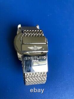 Breitling A17321 Superocean Heritage 42mm Black Dial Watch Full Kit