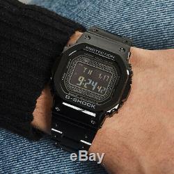 CASIO G-SHOCK Full Metal Bluetooth Black Edition Watch GShock GMW-B5000GD-1