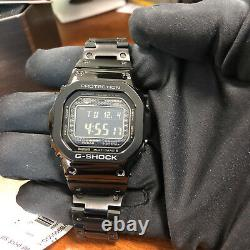CASIO G-SHOCK Full Metal Square Black 5000 GMWB5000GD-1 Watch Steel NEW 35th