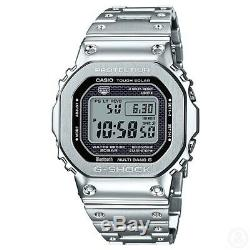 CASIO G-SHOCK GMW-B5000D-1 Bluetooth Full Metal Stainless Steel GMWB5000D-1