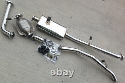 COMPLETE Stainless Steel Header and 2 Exhaust Kit for Suzuki Samurai