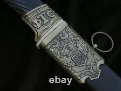 COSSACK SHASHKA CAVALRY SABER WITH SCABBARD JOTP77 russian sword russian saber