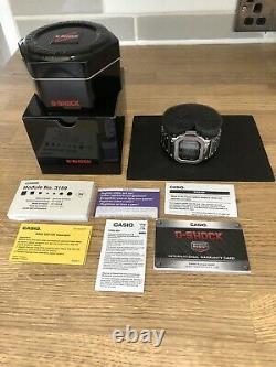Casio GW-M5610-1ER G Shock Multi Band 6 Tough Solar Full Metal Bracelet & Bezel