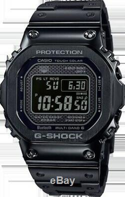 Casio G-Shock Full Metal Black Japan Watch Limited Edition New GMWB5000GD-1