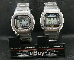 Casio G-Shock Full Metal GMWB5000D-1(Case) With DW-5600E Internals