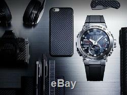 Casio G-Shock G-Steel Carbon Core Guard Full SS Bluetooth Watch GST-B200D-1A