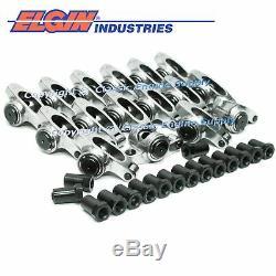 Chevy LS1 ELGIN Rocker Arm Kit Set SSR907RS 1.7 3/8 Stainless Steel Full Roller