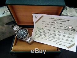 Collector Condition 1989/90 Rolex Oyster Submariner 5513 Full Set Investment