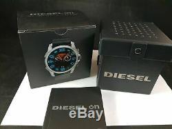 Diesel ON Full Guard 2.5 Touchscreen Smartwatch Stainless Steel Black (DZT2008)