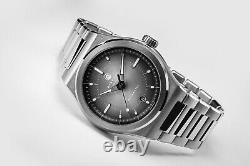 Direnzo DRZ 04 Swiss Made Mondial Vintage Style Diver Grey Dial New Full Set