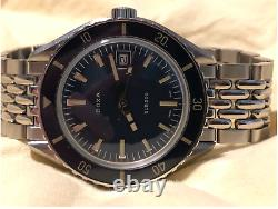 Doxa Sub 200 Caribbean Blue Diver Full Kit with Extra Strap Free Shipping Video