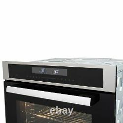 ElectriQ 72L 13 Function Full Fan Touch Control Single Oven in Stainless Steel