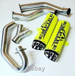 Empire Industries 15-20 Raptor 700 Dual Exhaust Full System Fast Huge HP