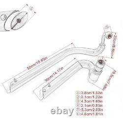 Exhaust Muffler Pipe Full System For Yamaha V star 650 XVS650 Dragstar650