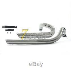 Exhaust Muffler Pipes Full System Fit Yamaha V star 650 XVS650 Dragstar650/400