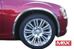 FTCR201 2005-2010 Chrysler 300/300C Dodge Charger Magnum POLISHED Fender Trim