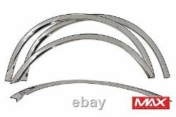FTFD205 1997-2003 Ford F-150 POLISHED Stainless Steel Fender Trim