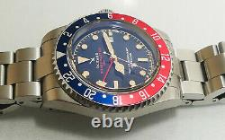 FULL KIT OceanX Sharkmaster GMT II SMS-GMT-211 Pepsi