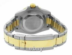 FULL SET Rolex Submariner Ceramic SMURF Two-Tone Gold Blue Dive Watch 116613 LB