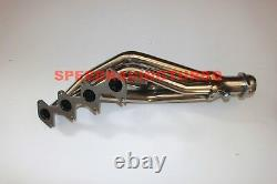 For 05-10 Pony Mustang Gt 4.6l V8 Stainless Steel Exhaust Manifold Racing Header