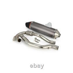 Full Exhaust Muffler System Slip On For CRF150F CRF230F 2003-2013 2012 Dirt Bike