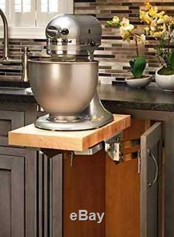 Full Height Base Cabinet Heavy Duty Mixer Lifter Shelve Rev Kitchen Organizer