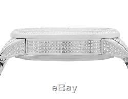 Full Mens 44 MM Gucci 101 G-Chrono Rose Gold Dial Diamond Watch YA101201 10.0 Ct