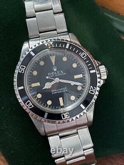 Genuine original Rolex 5513 1969 meters first 100% factory, full box set