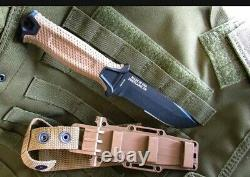 Gerber strongarm Coyote brown with multi carrying sheath AUTHENTIC. MADE IN USA