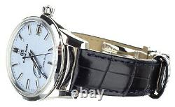 Grand Seiko Elegance 40mm Blue Snowflake Dial Sbga407 Full Set