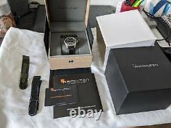 Hamilton Khaki Field Automatic 38mm Black Dial Full Box & Papers