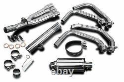 Honda CBR600F2 / F3 Delkevic Full 4-1 Exhaust 9 Stainless Steel Muffler 91-98