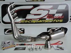 Honda CBR650F / CB650F 2014-19 Full exhaust system +Header CS Racing