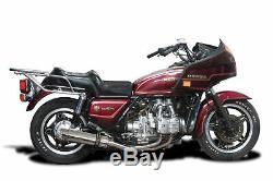 Honda GL1100 Full 4-2 Exhaust SL10 14 Stainless Steel Round Muffler 80 81 82 83