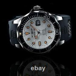Invicta 47mm Men's GRAND DIVER Automatic NH35A FULL LUME Dial Black Strap Watch