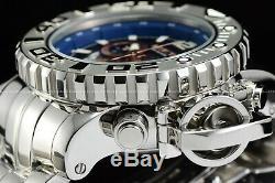 Invicta 70mm Full Sea Hunter High Polished Blue Ice Berg Swiss Chrome Watch