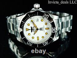 Invicta Men's 47mm GRAND DIVER Automatic NH35A FULL LUME Dial SS Bracelet Watch