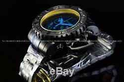 Invicta Men's 70mm Full Sea Hunter Sun in Night Black Swiss Orange Dial Watch