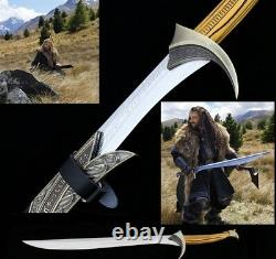 Lord of The Rings Hobbit Orcrist Thorin Oakenshield Stainless Sword Cosplay#3843