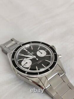 Lorier Gemini Chronograph Black Reverse Panda ST19 Movement, Full Kit